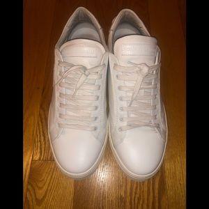 White leather Roberto Cavalli sneakers